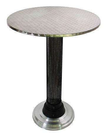 ENE-BRUNCH-80 Lounge tafel Inox 80cm