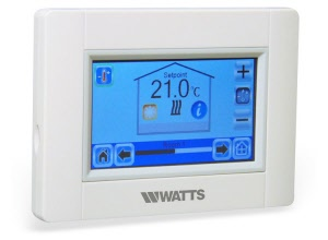 WATTS-BT-CT02-RFW Watts Centrale Touchscreen via Wifi